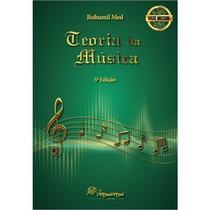 Livro de Teoria Musical Bohumil Med - Edição 5 - Vade Mecum / Musimed - Musimed - editora