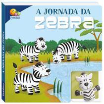 Livro - Dedoche - Leia e brinque: A jornada da zebra -