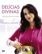 Livro - Delícias divinas: Como ser uma diva na cozinha (Capa dura) -