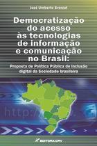 Livro - Democratização do acesso às tecnologias de informação e comunicação no Brasil -