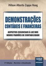 Livro - Demonstrações Contábeis e Financeiras -