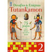 Livro Desafios  Enigmas de TutanKamon Ed. 2 - Abril