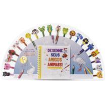 Livro - Desenhe Seus Amigos Animais - Um Livro-kit Divertido! -