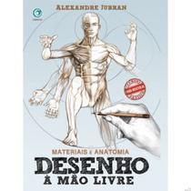 Livro Desenho Mão Livre Materiais Anatomia Alexandre Jubran - Sinoart