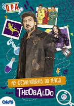 Livro - Detetives do Prédio Azul - As desventuras do mago Theobaldo -