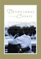 Livro - Devocional para casais -