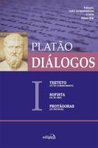 Livro - Diálogos I - Teeteto (ou Do Conhecimento), Sofista (ou Do Ser), Protágoras (ou Sofistas) -