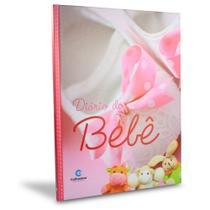 Livro Diário do Bebê Minhas Primeiras Fotos Recordações Rosa - Culturama