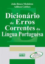 Livro - Dicionário de erros correntes da língua portuguesa -