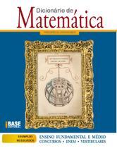 Livro - Dicionário de matemática 1ED -