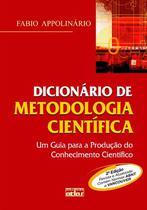 Livro - Dicionário De Metodologia Científica: Um Guia Para A Produção Do Conhecimento Científico -
