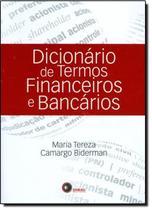 Livro - Dicionário de termos financeiros e bancários -