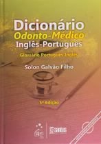 Livro - Dicionário Odonto-Médico Inglês-Portugues -