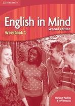 Livro Didático - English In Mind - Workbook 1 - Second Edition - Cambridge -  UNICA -