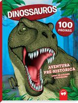 Livro - Dinossauros: Aventuras Pré-históricas -