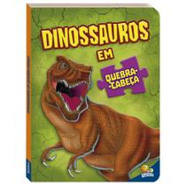 Livro - Dinossauros em quebra-cabeça -