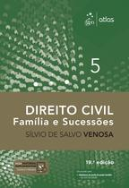 Livro - Direito Civil - Família e Sucessões - Vol. 5 -