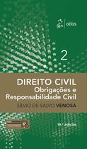 Livro - Direito Civil - Obrigações e Responsabilidade Civil - Volume 2 -