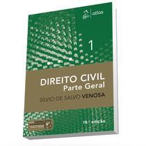 Livro - Direito Civil - Parte Geral - Vol. 1 - Venosa - Atlas