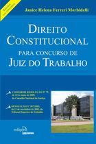 Livro - Direito constitucional para concurso de juiz do trabalho: Resumo -