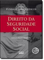 LIVRO - DIREITO DA SEGURIDADE SOCIAL - 12ª EDIÇÃO - Atlas