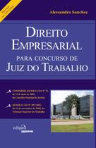 Livro - Direito empresarial para concurso de juiz do trabalho: Resumo -