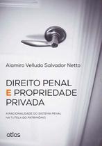 Livro - Direito Penal E Propriedade Privada: A Racionalidade Do Sistema Penal Na Tutela Do Patrimônio -