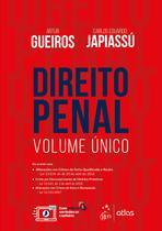 Livro - Direito Penal - Volume Único - Gueiros - Atlas -