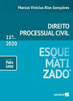 Livro - Direito Processual Civil esquematizado - 11ª edição de 2020 -