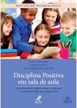 Livro - Disciplina positiva em sala de aula -