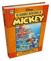 Livro Disney As Grandes Aventuras De Mickey 1 - Capa Dura - Abril