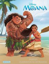 Livro - Disney clássicos ilustrados - Moana -