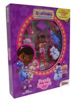 Livro - Disney Doutora Brinquedos - Prenda e Aprenda