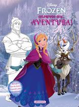 Livro - Disney - Frozen - colorindo com - aventura -