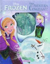 Livro - Disney - Frozen - uma aventura congelante -