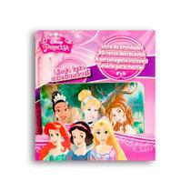Livro Disney Latinha Pop-Up - Princesas Disney DCL -