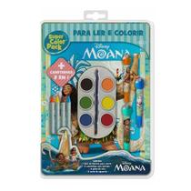 Livro Disney - Super Color Pack - Moana - DCL -