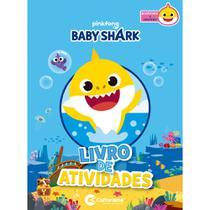 Livro - DIVERSAO COM ADESIVOS BABY SHARK -