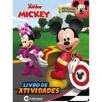 Livro - DIVERSAO COM ADESIVOS MICKEY -