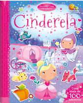 Livro - Divertidos contos com adesivos: Cinderela -