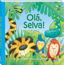 Livro - É hora de aventura! Olá, selva! -