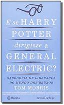 Livro - E se Harry Potter dirigisse a General Eletric? -