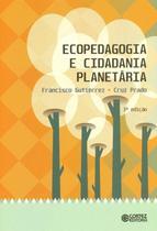 Livro - Ecopedagogia e cidadania planetária -