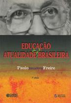 Livro - Educação e atualidade brasileira -