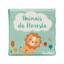 Livro Educativo De Banho Animais da Floresta 6m+ Buba 7497 -