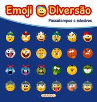 Livro - Emoji Diversão Azul -