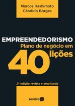 Livro - Empreendedorismo: Plano de negócios em 40 lições -