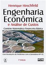 Livro - Engenharia Econômica E Análise De Custos: Resoluções De Problemas Com A Calculadora Hp-12C -