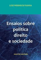 Livro - Ensaios sobre política, direito e sociedade -
