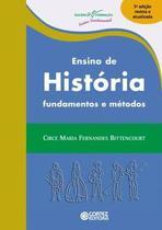 Livro - Ensino de História - Cor - cortez editora